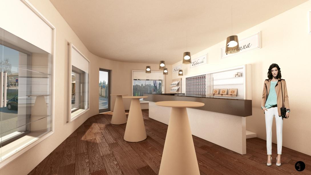 Interior design tabaccheria ramina giulia designer for What is a interior designer