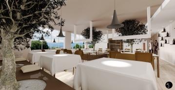 Interior design Ristorante | Ramina Giulia Designer