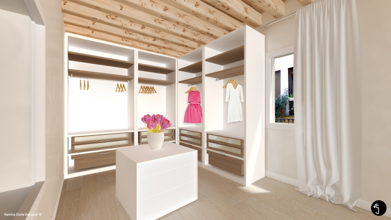 Interior design Wardrobe