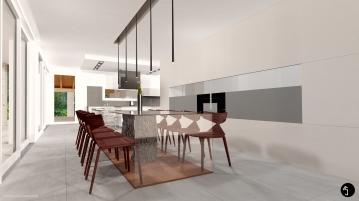 Hillside villa Ramina Giulia Designer