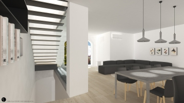 Living room project design