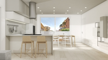 Kitchen project by Ramina Giulia Designer