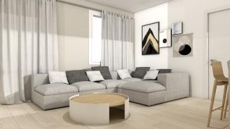 Living room by Ramina Giulia Designer